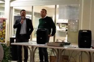 Il discorso del sindaco Luca Coffari