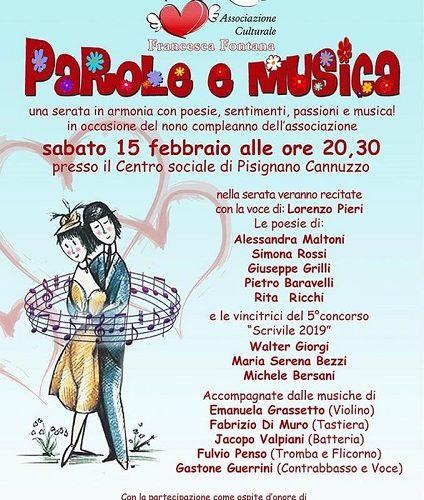 """""""Parole E Musica"""" Di Solidarietà"""
